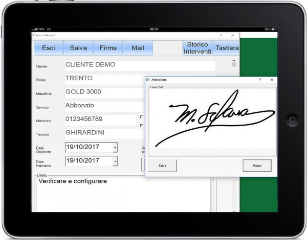 Mastro Tablet Assistenza Tecnica